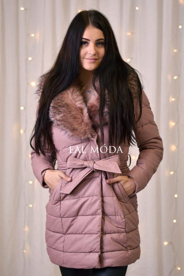zimní koženková bunda