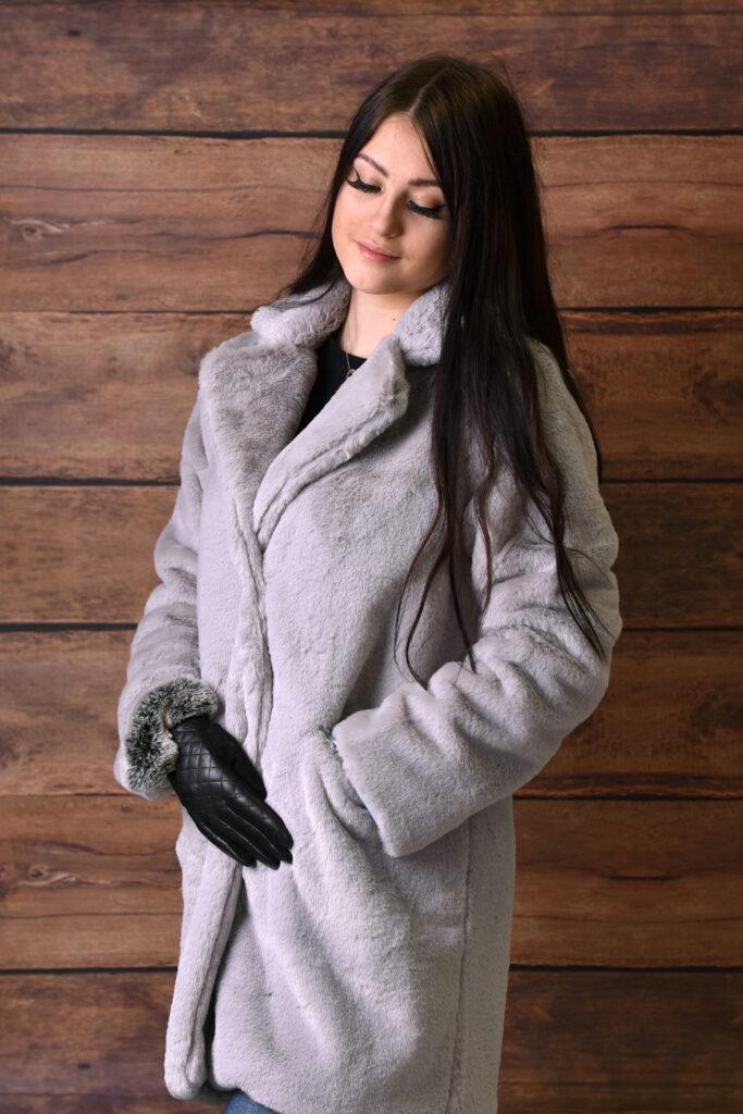 Luxusní zimní kabát