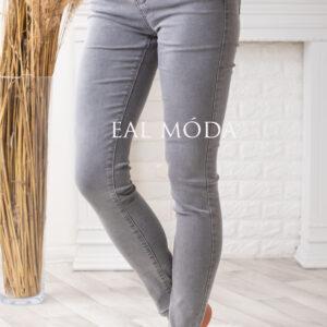 Šedé letní tenké jeans
