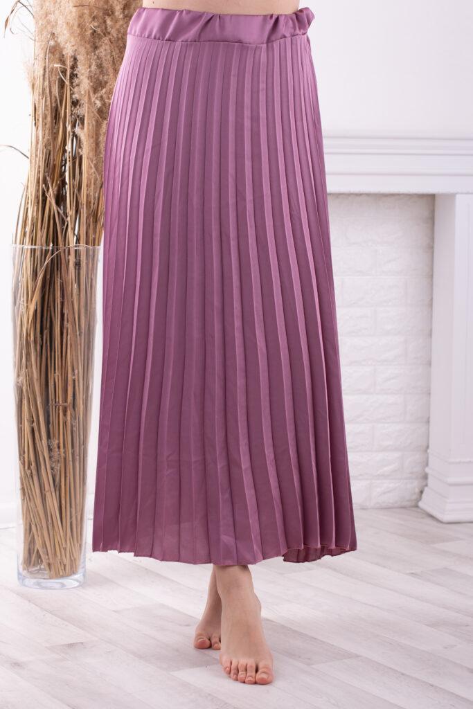 Dlouhá skládaná sukně